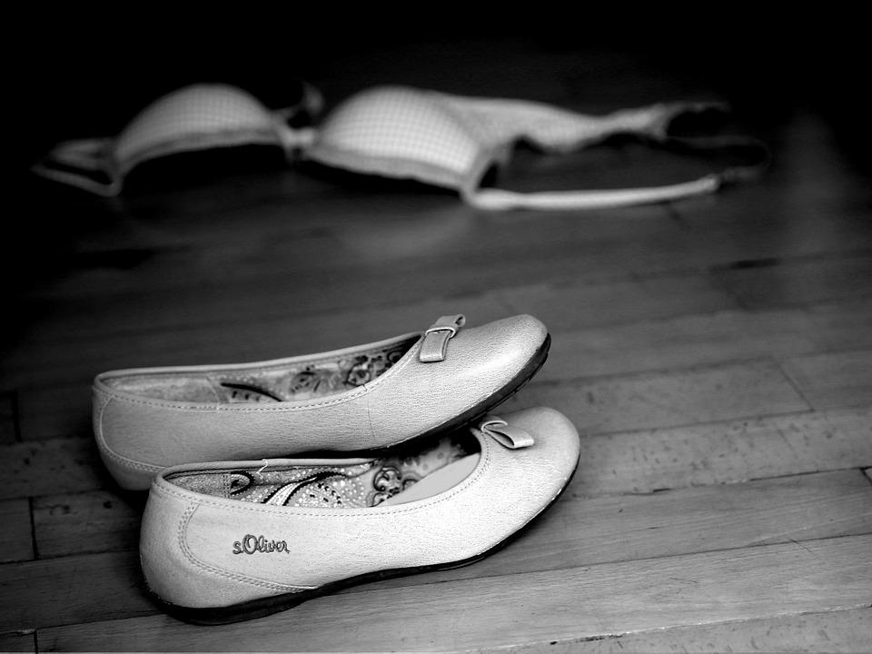 boty a podprsenka