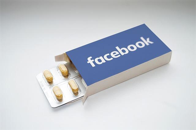 facebook jako droga