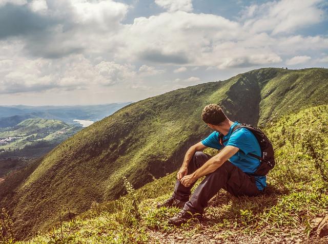 odpočinek na kopci