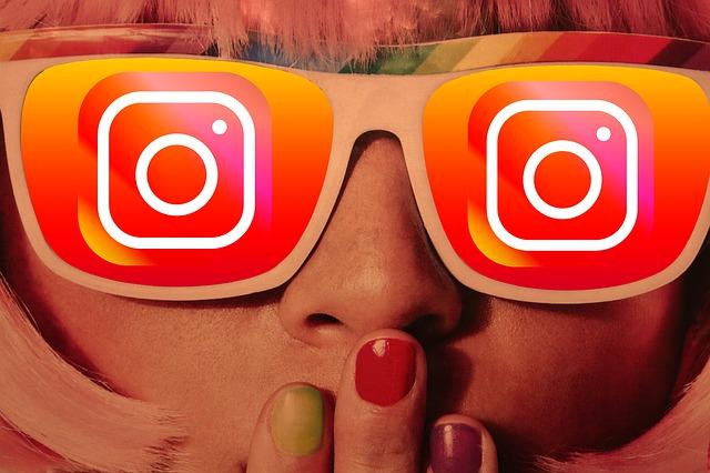 instagram sluneční brýle