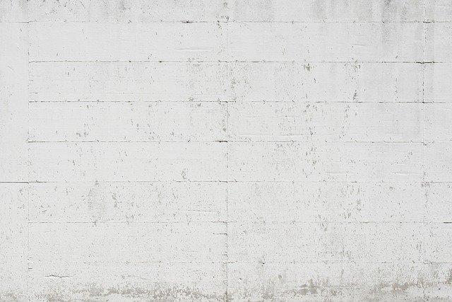 betonová stěna
